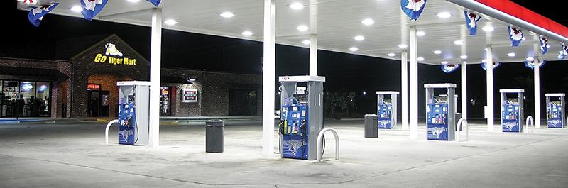 Canopy Gas Station Light